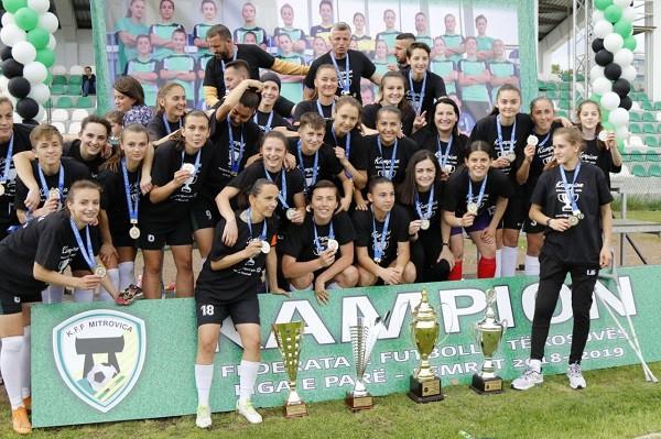 Mitrovica e Onbashit, dominon në futbollin e femrave