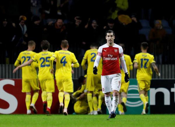 Befasi në Bjellorusi, mposhtet Arsenali