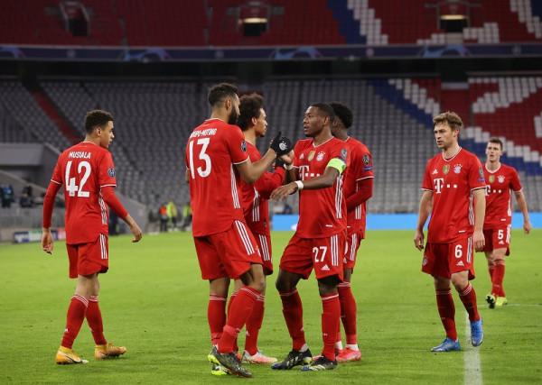 Notat e futbollistëve: Bayern-Lazio
