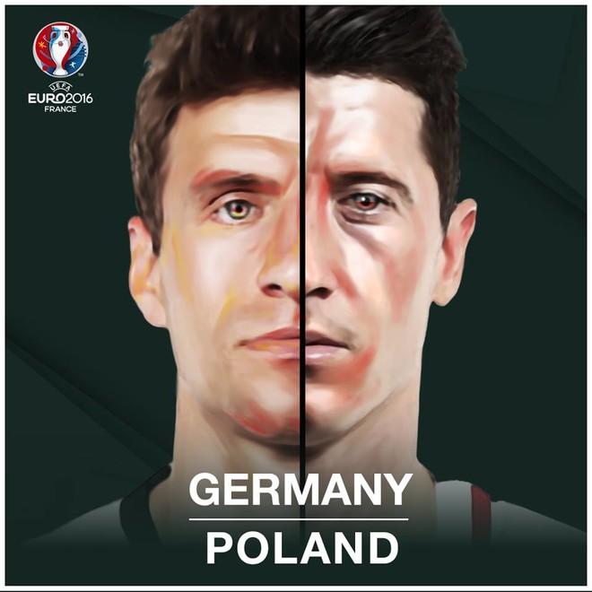 Formacionet zyrtare: Gjermania - Polonia