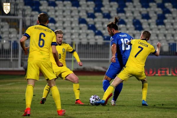 Suedia - Kosova, 11-shet startuese