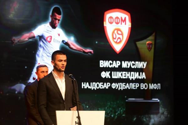 Visar Musliu shpallet lojtari më i mirë i elitës maqedone