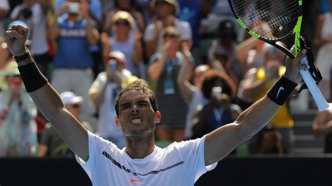Nadal kthehet fuqishëm në Melbourne