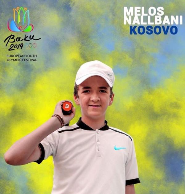 Melos Nallbani në Baku 2019