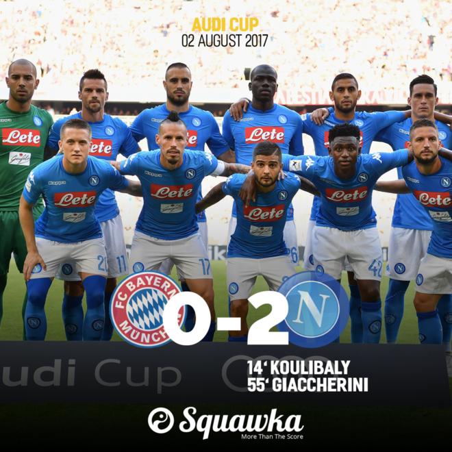 Edhe Napoli mposht Bayernin
