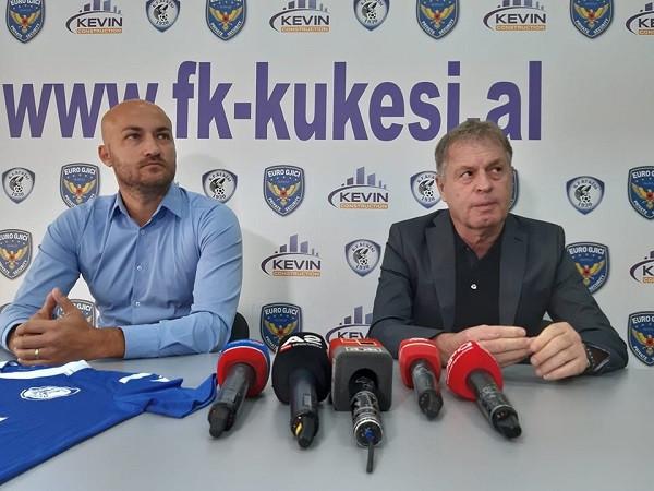 Kukësi prezanton trajnerin e ri të skuadrës
