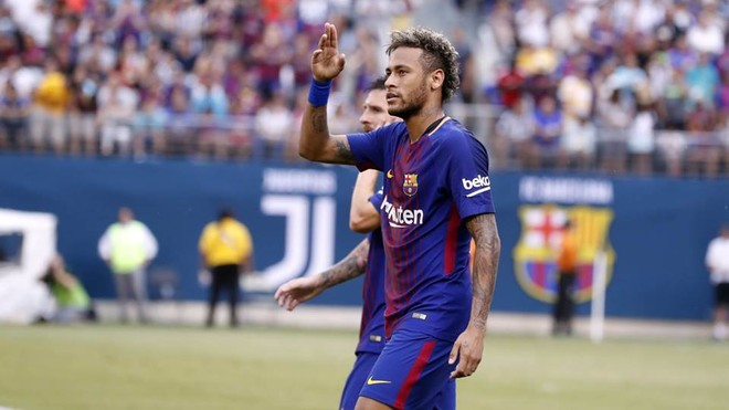 Përshëndetja shkëlqyese e Neymarit, Barcelona mposht Juventusin