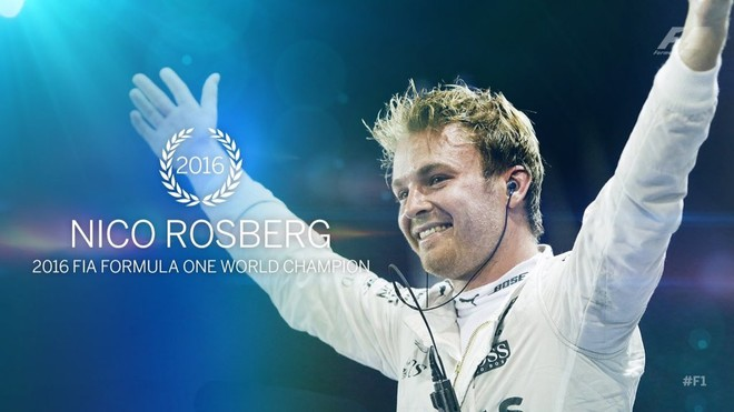 Rosberg kampion i Formula 1!