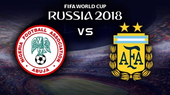 Formacionet: Nigeria - Argjentina