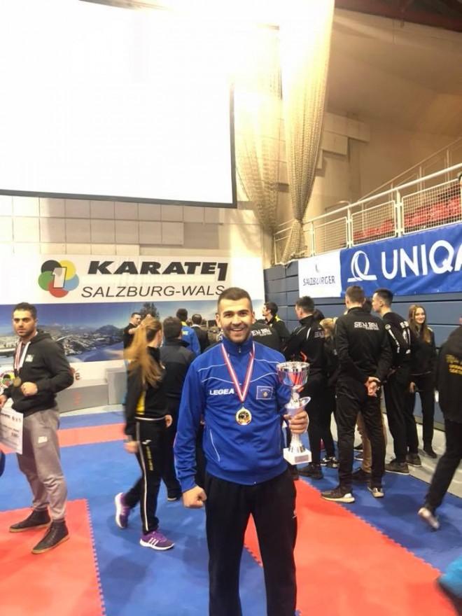 Herolind Nishevci fiton turneun në Salzburg