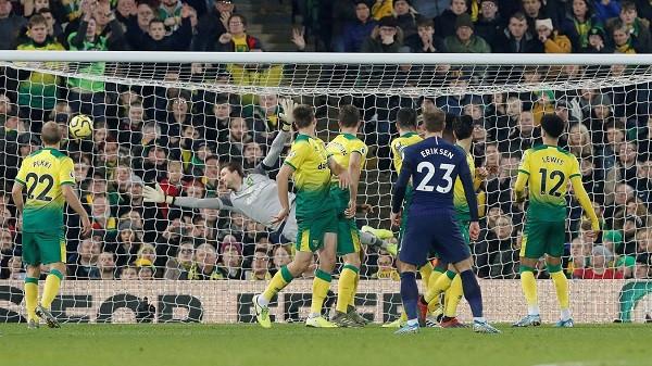 Penalltia e Kane'it, shpëton Mourinhon nga humbja e dytë