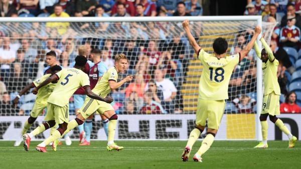 Odegaard vendimtar, Arsenali fiton