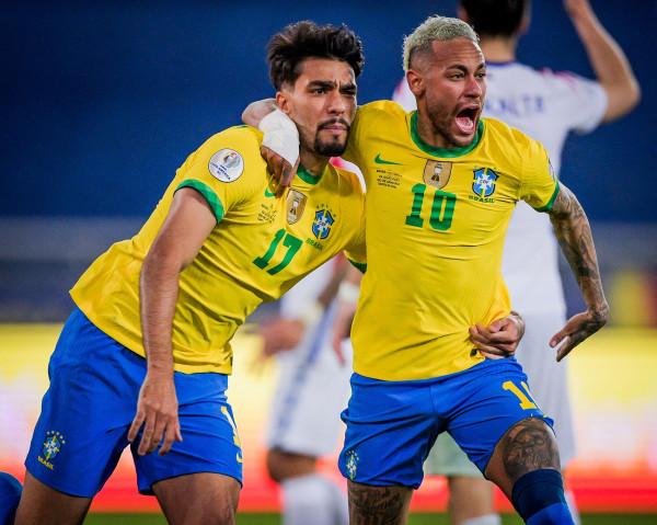 Paqueta hyn, shënon — Brazili me 10 lojtarë në gjysmëfinale