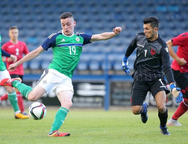 Humbje minimale në minutat shtesë e Shqipërisë U21 nga Irlanda Veriore U21