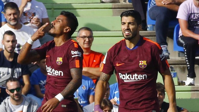 Paulinho i sjell fitoren Barcelonës