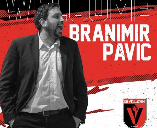Vëllaznimi zyrtarizon trajnerin Branimir Pavic