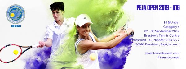 Peja Open 2019, turneu i parë ndërkombëtar i tenisit në Kosovë