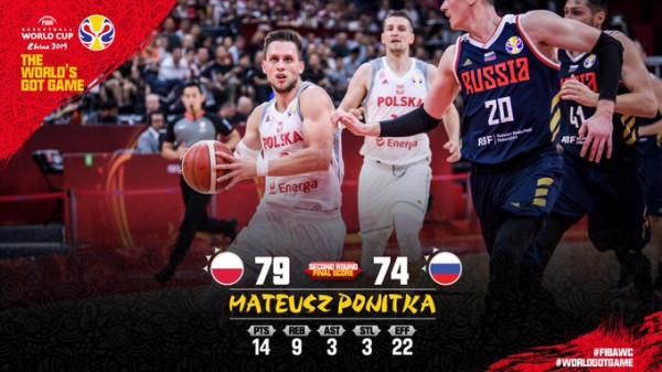 Polonia e pandalshme edhe në raundin e dytë