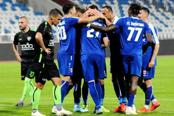 Thaqi shkëlqen me tre asistime, Prishtina çlirohet në 22 minutat e fundit