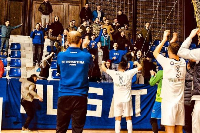 Prishtina arrin fitoren e parë si mysafir