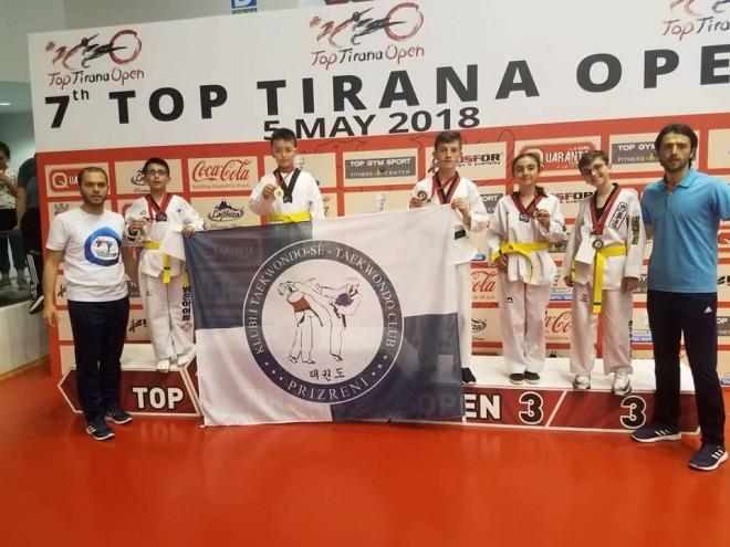 5 garues, 5 medalje nga KT Prizreni