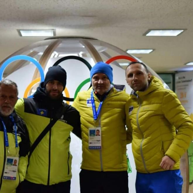 Ekipi olimpik i Kosovës arrin në PyeongChang