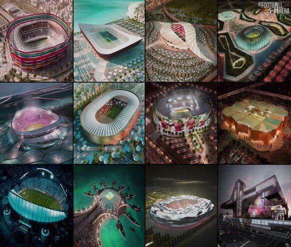 Qatar 2022, grupet kualifikuese - shorti i plotë