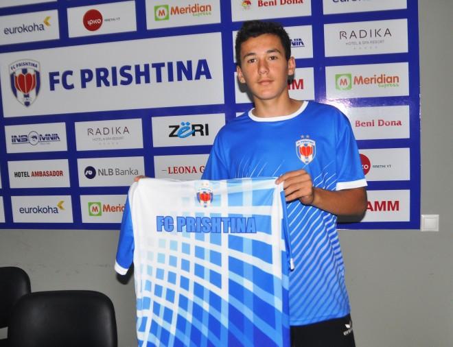 Prishtina transferon talentin nga Theranda