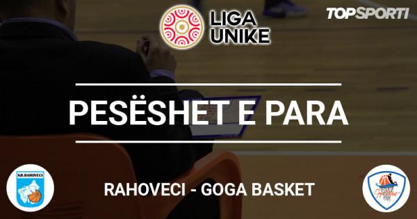 Pesëshet e para: Rahoveci - Goga Basket
