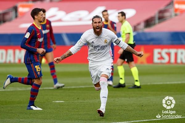 Real Madrid lider, fiton El Clasicon në pjesë të dytë