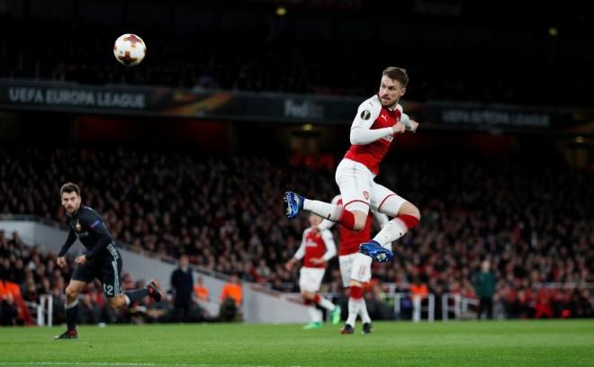 Ramsey kalon testet e para për Juven