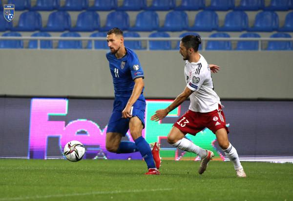 Formacioni i mundshëm i Kosovës ndaj Greqisë