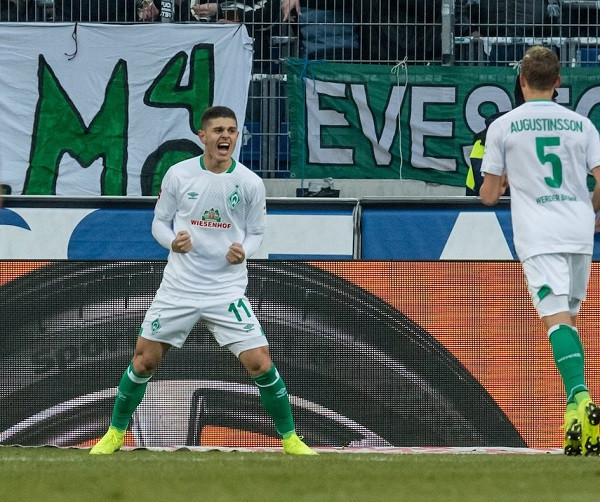 Rashica ia sjell 3 pikë Werderit