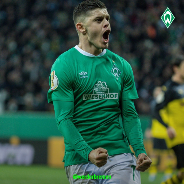 Rashica shënon histori te Werderi, që eliminoi Dortmundin