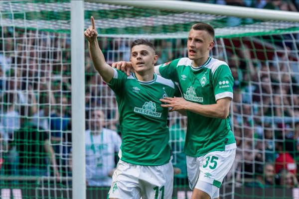 Milot Rashica zgjedhet lojtari i sezonit 2018/19 te Werder Bremeni
