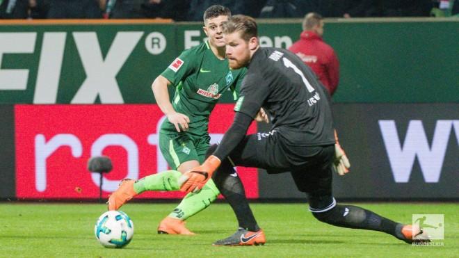 Pak minuta për Rashicën në humbjen e Werderit