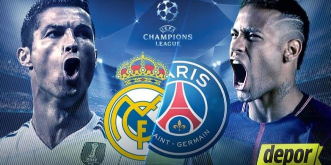 Real Madrid vs. PSG, formacionet zyrtare