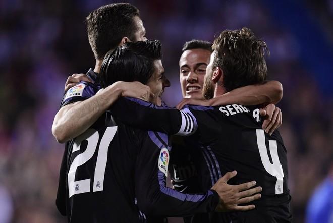 Ronaldo me rekord, Reali me fitore