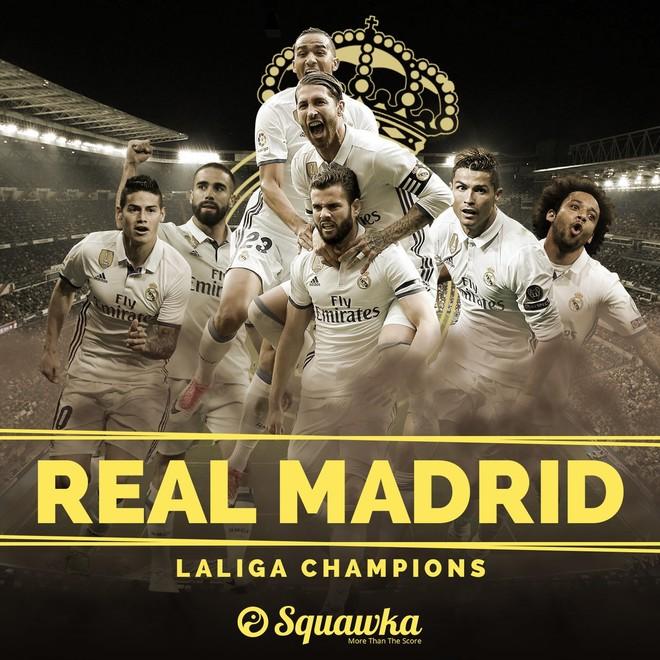 Pas 5 viteve, Reali kampion i La Ligas!