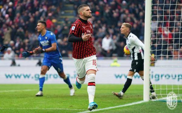 Zëvendësuesi Rebić i sjell fitoren e tretë me radhë Milanit