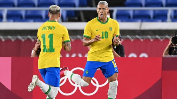 Richarlison hattrick për fitore të Brazilit ndaj Gjermanisë