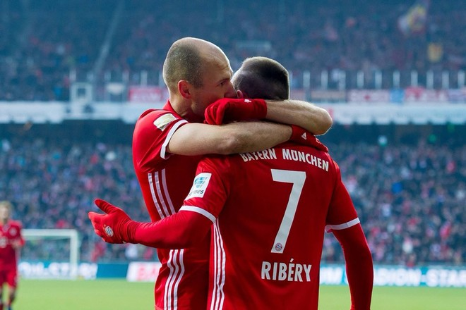 Rikthehet 'Robbery', Bayerni fiton