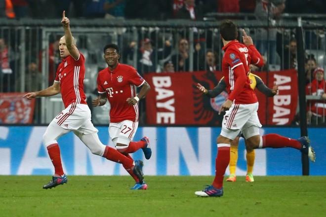 Bayerni i pamëshirshëm, deklasohet Arsenali