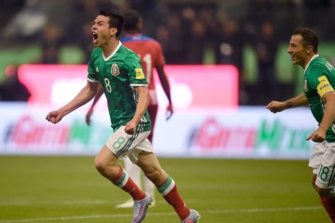 """1 gol, 3 pikë të reja, meksikanët ekipi i radhës në """"Rusia 2018"""""""
