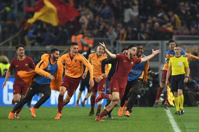 Si gladiatorë, Roma deklason Barcelonën