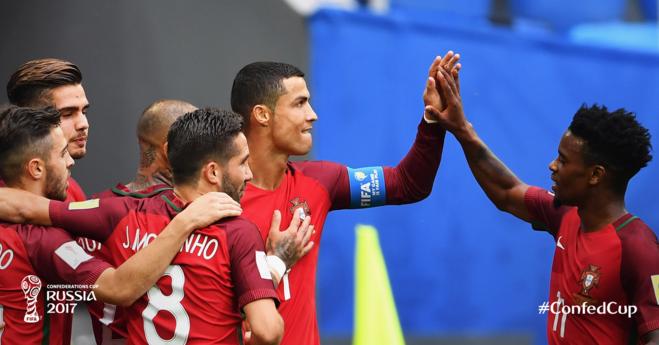 Portugalia e Meksika në gjysmëfinale