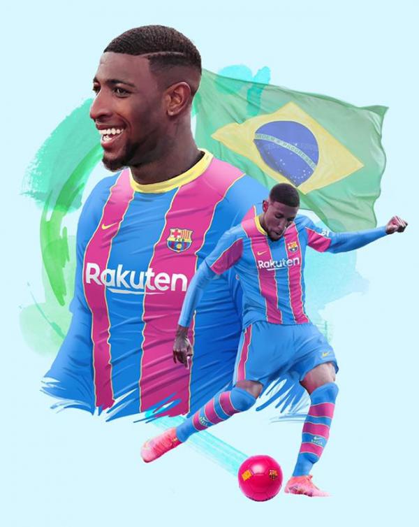 Barcelona rikthen Emersonin