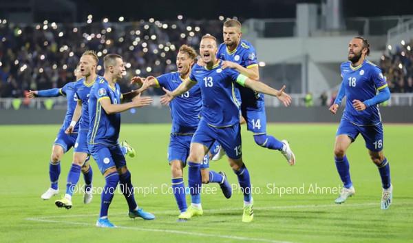 Notat e futbollistëve të Kosovës ndaj Malit të Zi