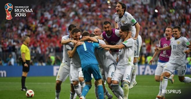 Befasia e radhës, Rusia eliminon Spanjën pa ide