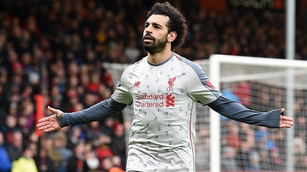 Mohamed Salah hat-trick, Liverpool s'fal